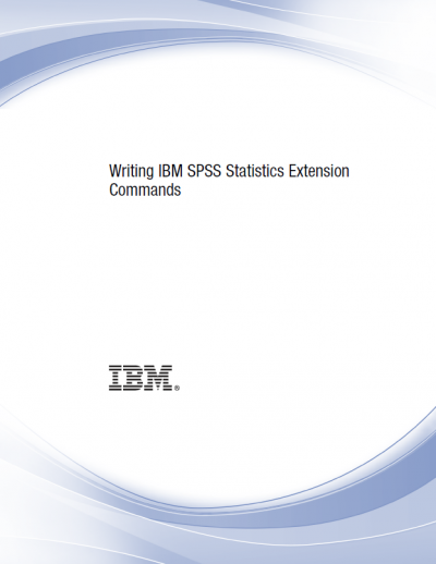 writing statistics extension commands cover