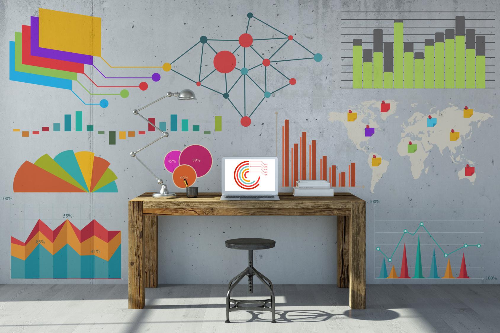 Analyse und Planung mit Computer im Büro
