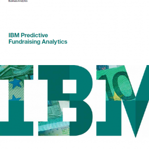 predictive analytics for fundraising cover
