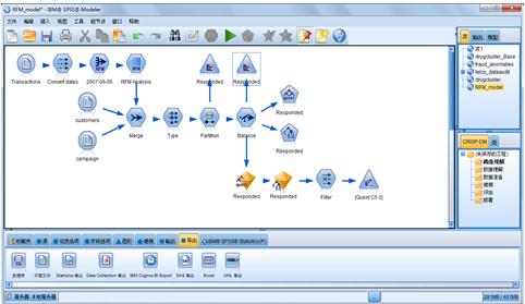 SPSS modeler screengrab