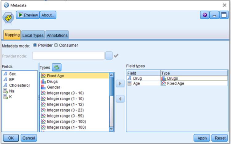 Enhanced Metadata Node for IBM SPSS Modeler