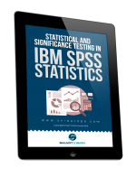 Statistical and significance testing in SPSS Statistics